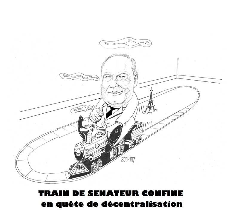 COVID - Train de sénateur confiné en quête de décentralisation