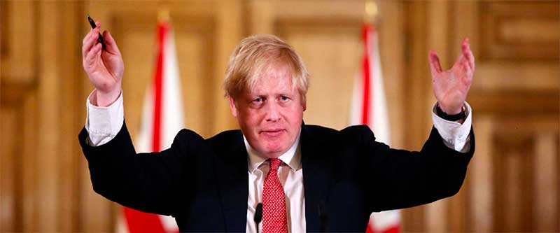 Un Boris Johnson miraculé