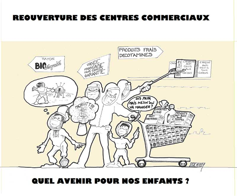 COVID - Réouverture des Centres Commerciaux